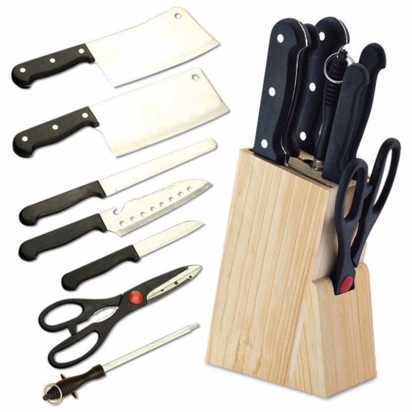 Bộ dao kéo 7 món thép không gỉ Knife (có mài dao)