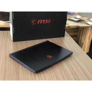 Laptop MSI GF63 Thin 10SC (Core I7-10750H 12CPU Gen10, Ram 8GB, SSD NVMe 512GB, VGA GeForce GTX 1650) thumbnail