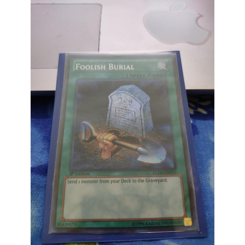 [Yugioh Funny Shop] Foolish Burial – LCJW-EN070 – Secret Rare
