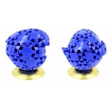 Rubik Biến Thể - Meffert's Gear Egg Blue