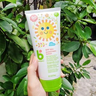 Kem chống nắng trẻ em Babyganics Minerals Based Sunscreen SPF50 177ml thumbnail