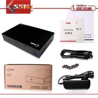Hộp đựng ổ cứng gắn ngoài HDD Box 3.0 SSK HE-G3000 3.5