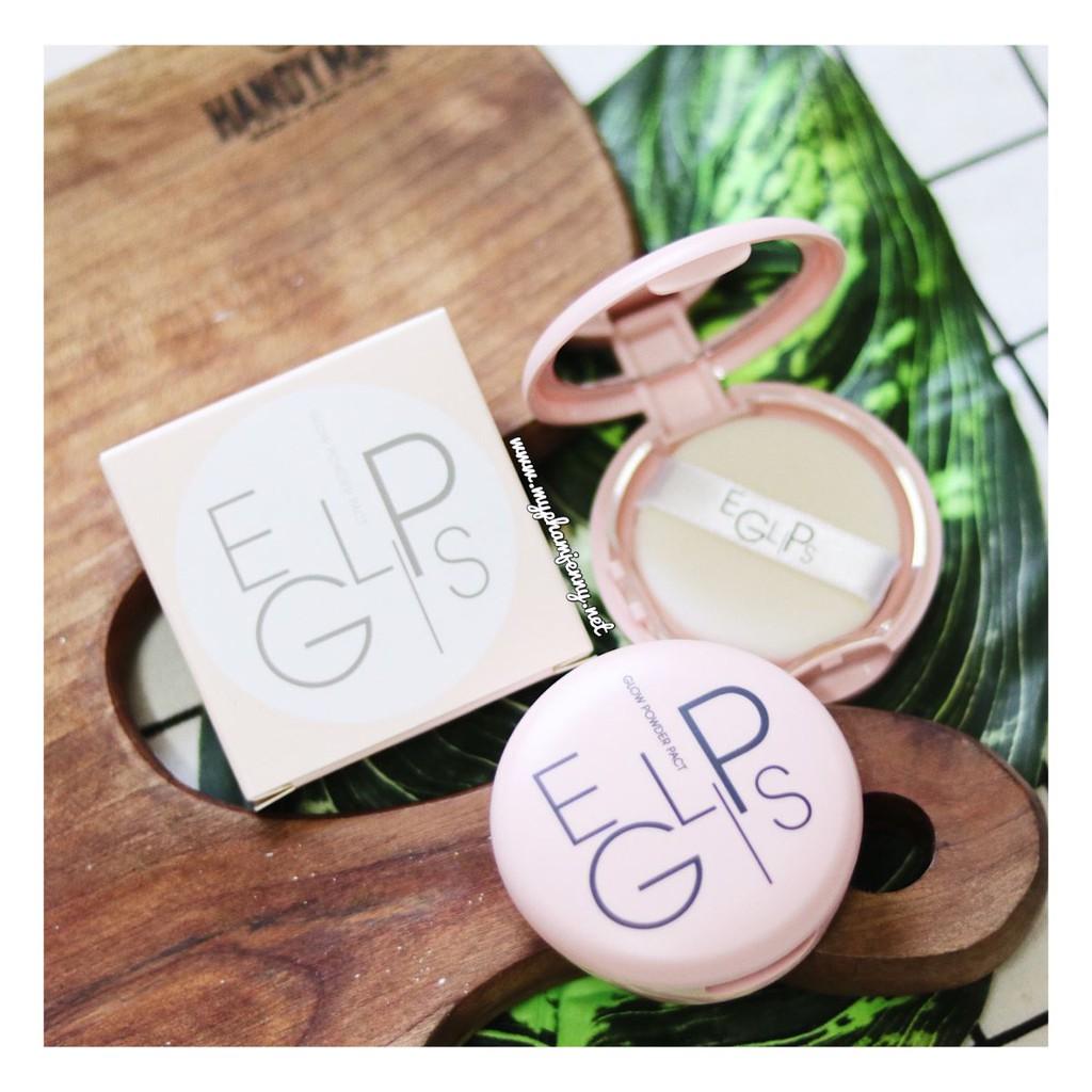Phấn Phủ Tạo Độ Bóng Hồng Hào Làn Da Eglips Glow Powder Pact(Pink)