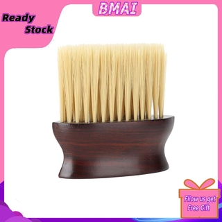 Bmai Professional Neck Face Hair Remover Brush Fiber Dust Cleaning Sweeping
