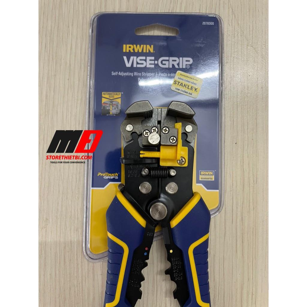 2078300 Kềm tuốt dây điện bấm có đa năng IRWIN VISE GRIP