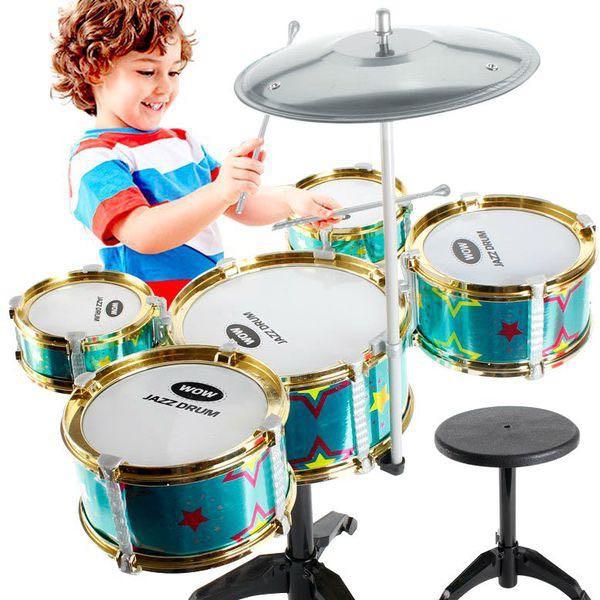 Trọn bộ 5 trống jazz cao cấp cỡ lớn cho bé