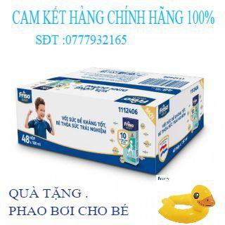 (HÀNG CTY 100%) Thùng 48 Hộp Sữa Bột Pha Sẵn Friso Gold Vani (48 X 180ml)