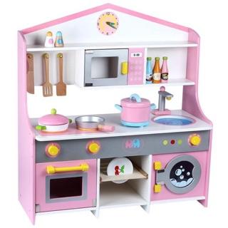 Bộ bà bếp nấu ăn cho bé bằng gỗ