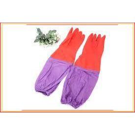 (Rẻ - Đẹp - Chất)Sản phẩm Găng tay cao su lót nỉ – Găng tay rửa bát
