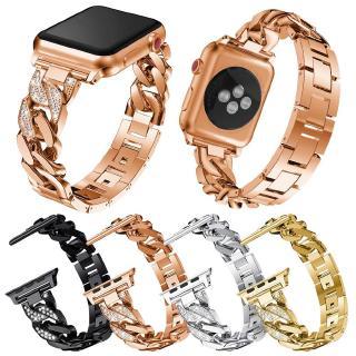 Dây Đeo Đồng Hồ Apple Watch 6 5 4 3 Se Đính Đá Thời Trang