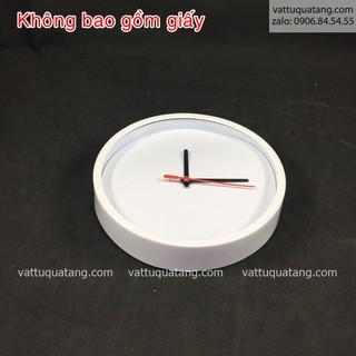 Phôi đồng hồ nhựa tròn 20cm