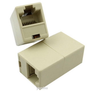 RJ45 Office Durable Bilateral LAN Waterproof Network Cable Connector