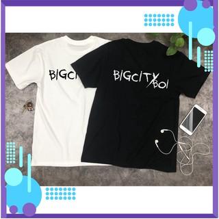 – Áo thun bigcityboi – áo bigcityboi trắng đen, bigcityboy, áo thun unisex – có tay lỡ