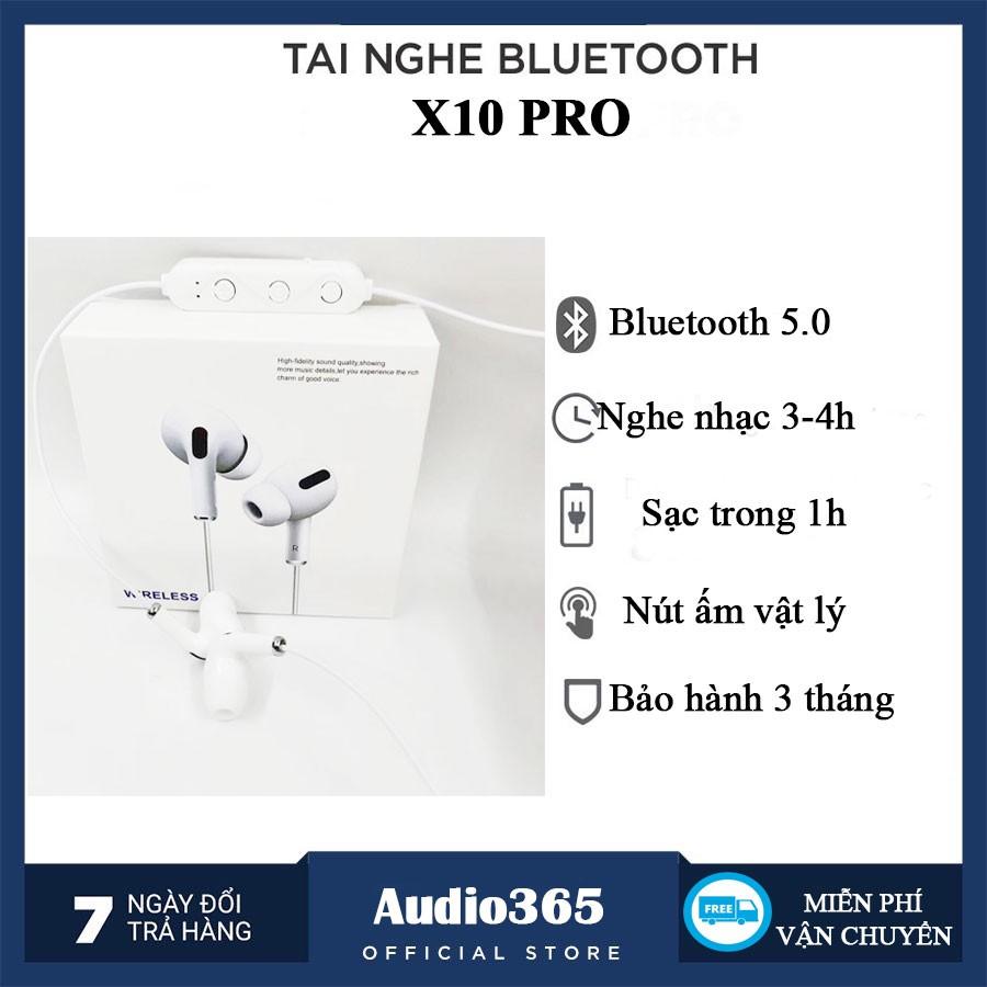 TAI NGHE BLUETOOTH SPORTS X10 PRO SIÊU BASS KHÔNG DÂY