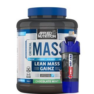 Mass Tăng Cân Critical Mass Applied Nutrition 2,4Kg & Bình Lắc
