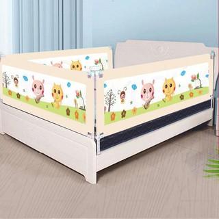[GIAO 2H]Thanh chắn giường cho bé 1M6, 1M8, 2M, 2M2 Aachmann CB-1010 trượt lên trượt xuống cao 82 cm giá bán 1 thanh thumbnail