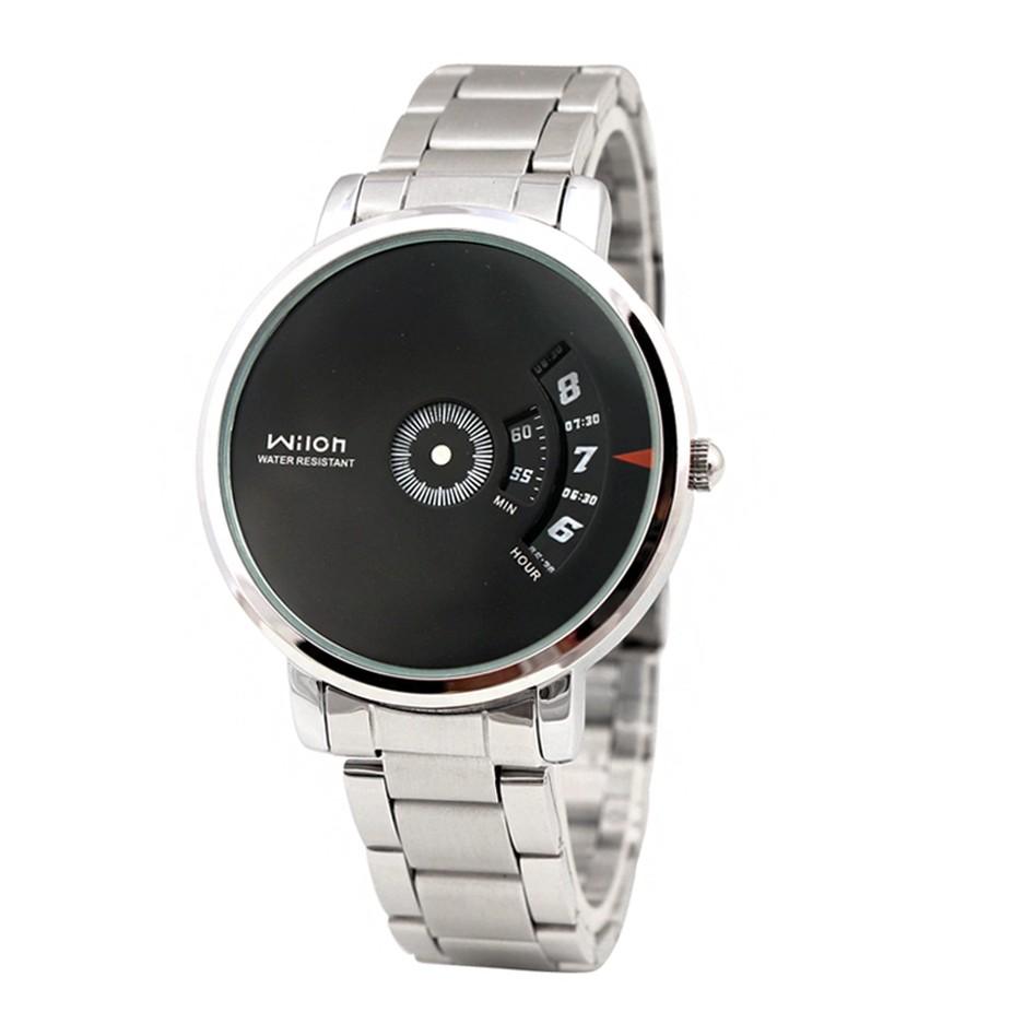 Đồng hồ nam WILON 938 dây thép không gỉ VRG007888