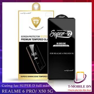 FREESHIP 50K_Kính cường lực Realme 6 6s 6 Pro X50 5G Miếng dán Super D Full viền Đen MIETUBL thumbnail