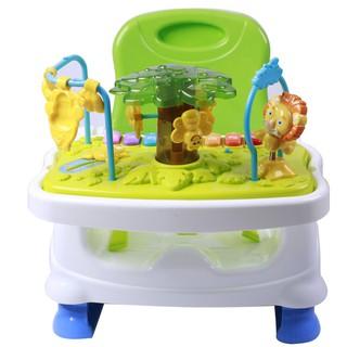 Ghế ăn dặm Royalcare điều chỉnh độ cao, 2 khay ăn cho trẻ em từ 6 tháng tới 3 tuổi 822-210 thumbnail