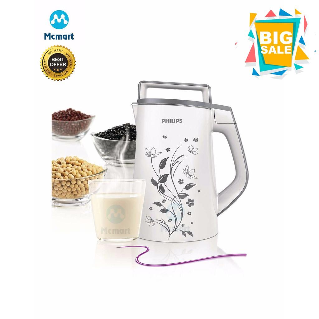 Máy làm sữa đậu nành Philips HD2072 (Trắng) - Hàng nhập khẩu - 3550720 , 1097733866 , 322_1097733866 , 1839000 , May-lam-sua-dau-nanh-Philips-HD2072-Trang-Hang-nhap-khau-322_1097733866 , shopee.vn , Máy làm sữa đậu nành Philips HD2072 (Trắng) - Hàng nhập khẩu