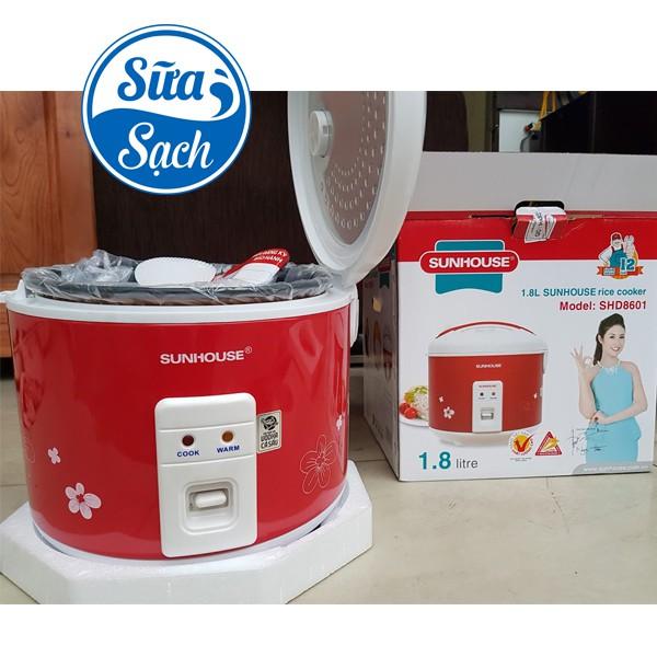 Nồi cơm điện Sunhouse 1,8 lít SHD8601 chính hãng giá tốt