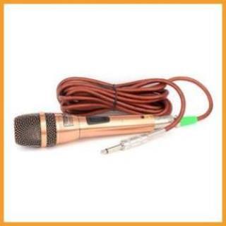 [Giá Gốc] Microphone dây GLONRIK GM-6.3 (Vàng đồng)