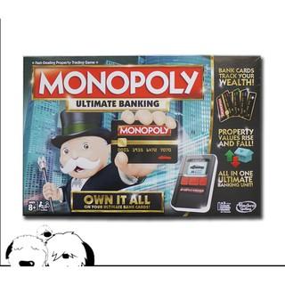 (Hàng Chính Hãng) Cờ tỉ phú Monopoly ngân hàng điện tử / Haspro