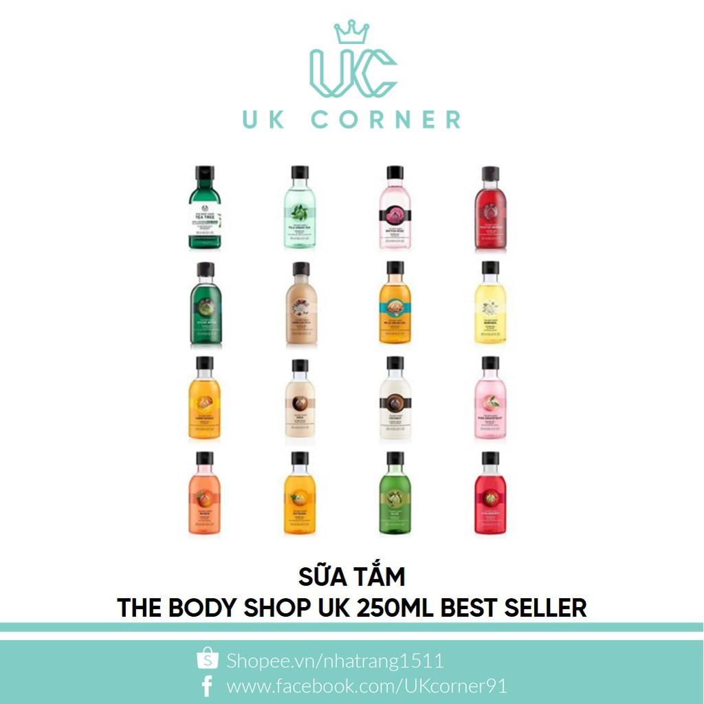 Sữa tắm The Body Shop UK 250mL Best Seller