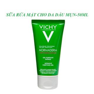 Sữa rửa mặt cho da dầu mụn Vichy Normaderm phytosolution