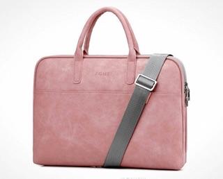 Túi đựng laptop JQMEI nhiều ngăn túi chống sốc cặp văn phòng chống thấm cho nam nữ