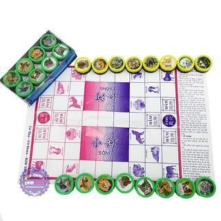 Hộp đồ chơi 2 trong 1: Cờ thú và Cờ đoán