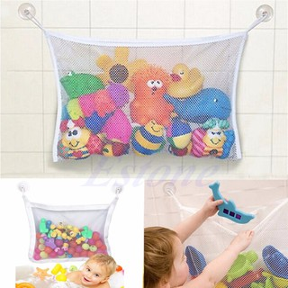 Baby Bath Bathtub Toy Mesh Net Storage Bag Organizer Holder Bathroom Organiser