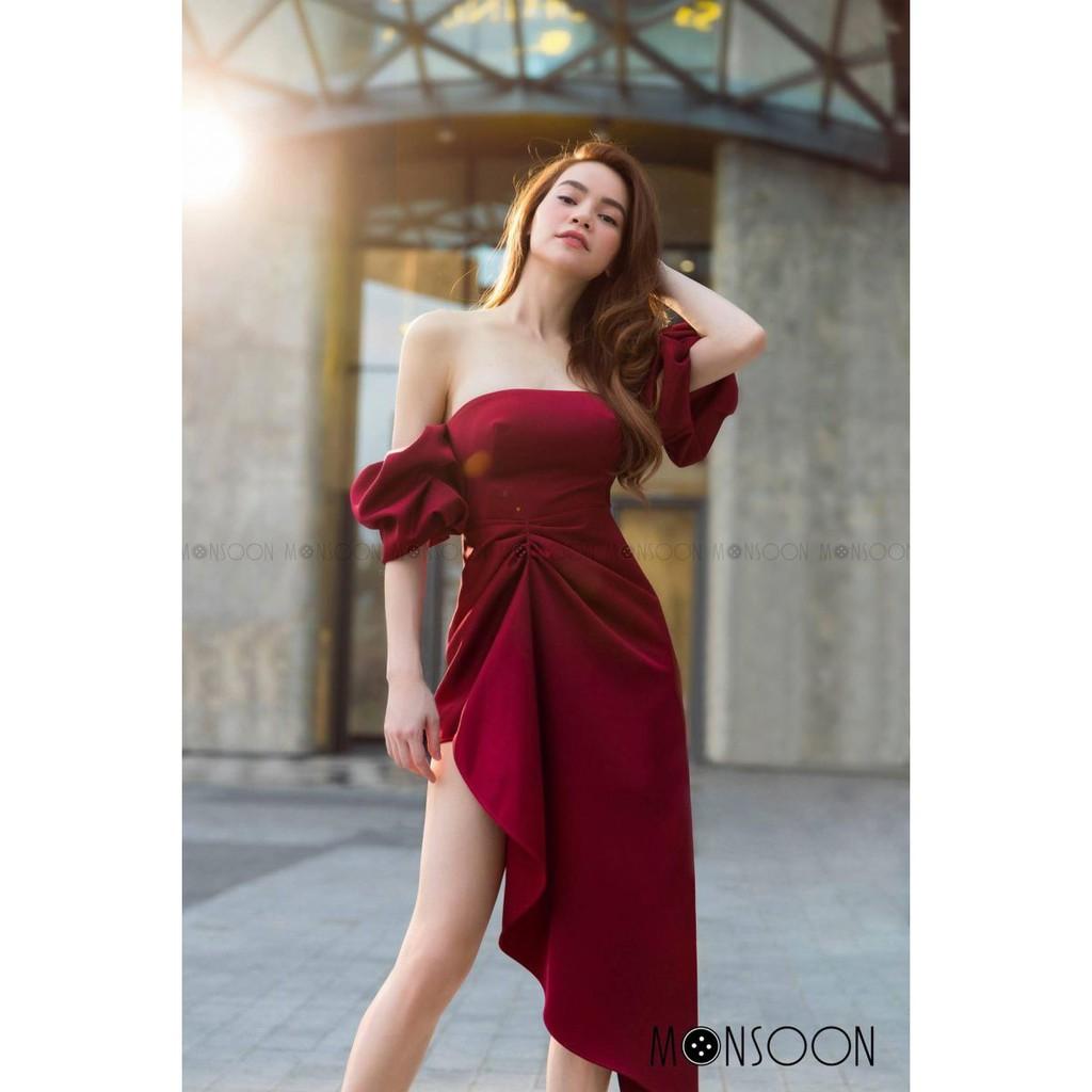 [HÌNH THẬT] Váy Đầm RED HOLIDAY DRESS Chất Cát Thái Sang Trọng Đẹp Sexy Thời Trang Dạo Phố Dự Tiệc Hàng Cao Cấp 2019