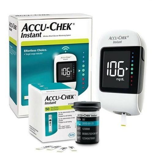 ACCU-CHEK INSTANT - Máy thử đường huyết chính hãng Accu Chek