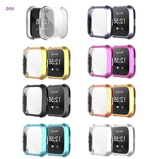 Vỏ Tpu Trong Suốt Bảo Vệ Màn Hình Đồng Hồ Thông Minh Fitbit Versa Lite 38mm 40mm