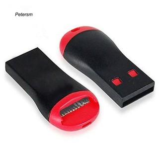 Đầu đọc thẻ nhớ ptsm có đầu cắm USB 2.0 cho Micro SD SDHC SDXC TF