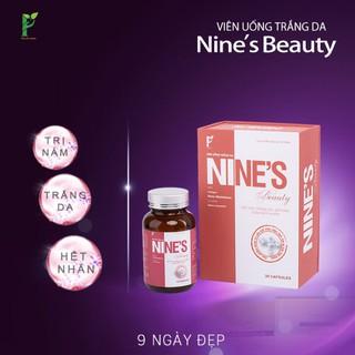 Viên uống trắng da Nine's Beauty‼️ Trắng da, mờ nám, giảm nếp nhăn (9 ngày)
