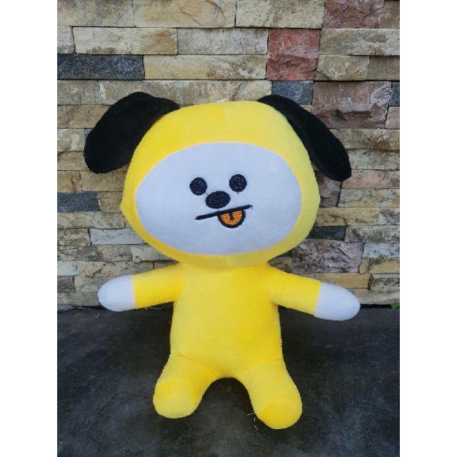 [ẢNH THẬT]Gấu bông BT21 Doll cao 30cm chất lượng cao