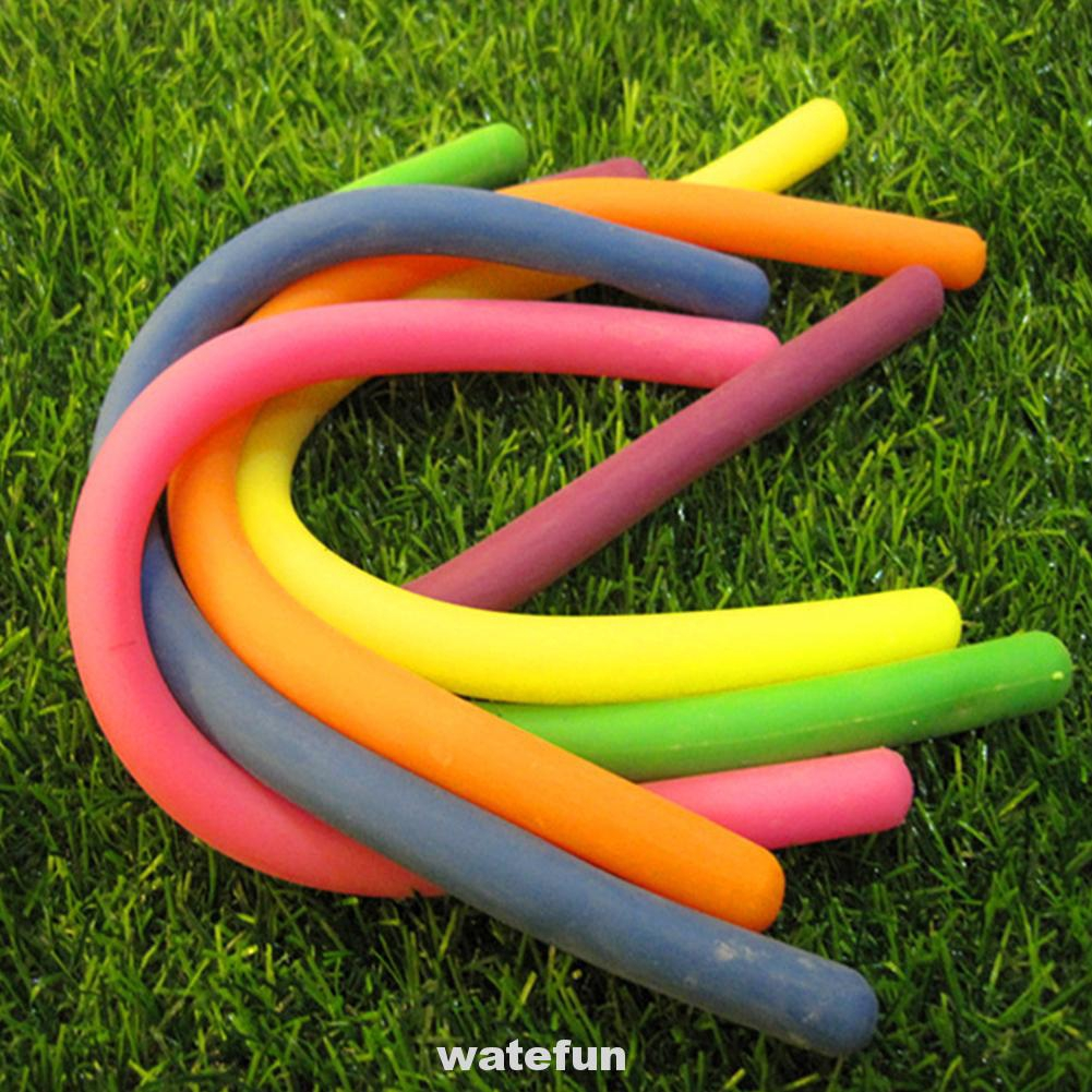 Anti Stress Colorful Kids Toy Pull Resistant Sensory Relieve Squeeze Stretchy String