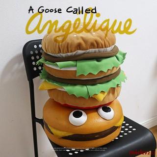 Thú Nhồi Bông Hình Bánh Hamburger Xinh Xắn
