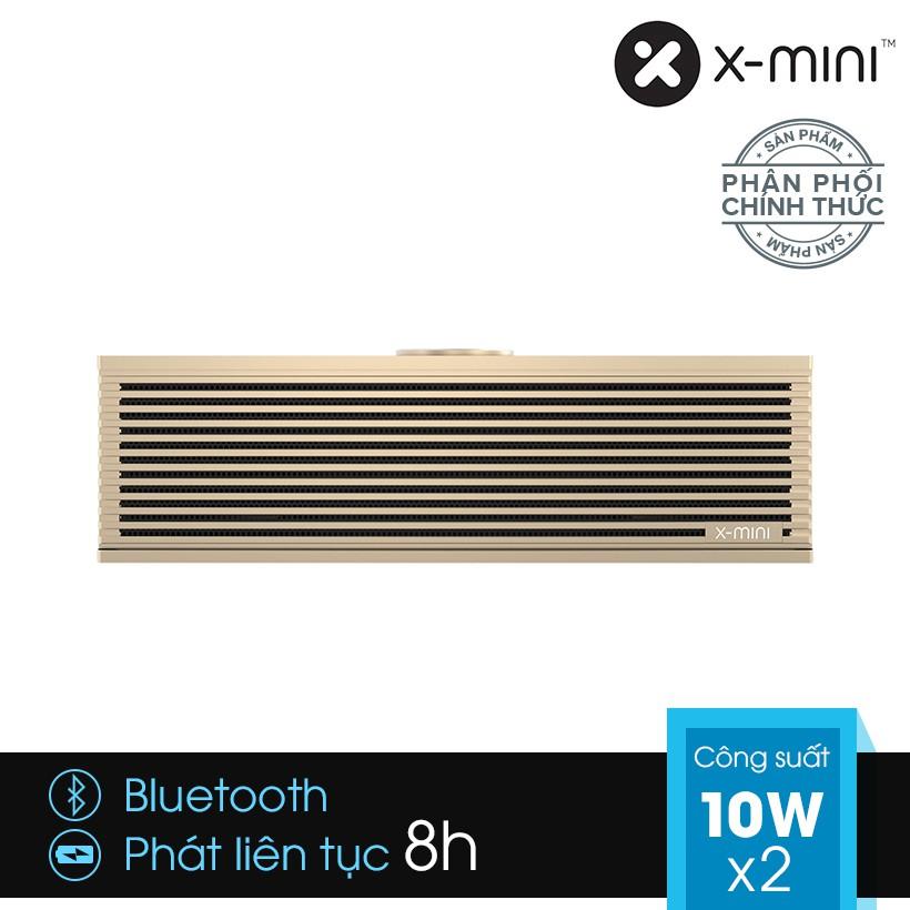 [Chính Hãng] Loa Bluetooth X-mini SUPA kèm khe cắm thẻ MicroSD - Màu gold - 2944100 , 1008481246 , 322_1008481246 , 3790000 , Chinh-Hang-Loa-Bluetooth-X-mini-SUPA-kem-khe-cam-the-MicroSD-Mau-gold-322_1008481246 , shopee.vn , [Chính Hãng] Loa Bluetooth X-mini SUPA kèm khe cắm thẻ MicroSD - Màu gold