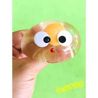 đồ chơi gudetama trứng bóp trút giận mặt cười 1 lòng mã AVV83 Omua là có quà