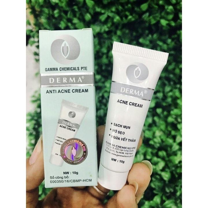 Kem trị mụn Derma Anti Acne Cream 10g