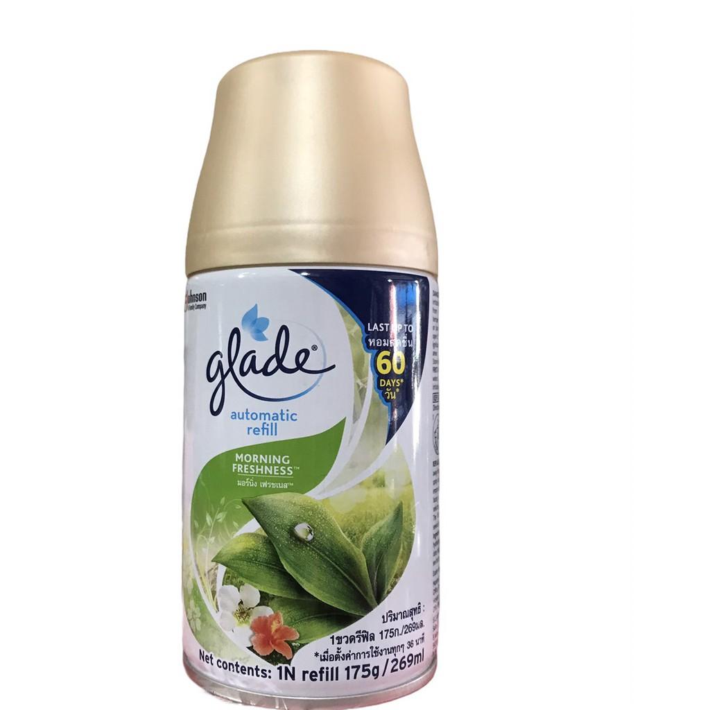 Lõi (bình) máy xịt thơm phòng tự động Glade đủ mùi