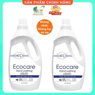 Nước rửa tay ECOCARE 1L, quế hữu cơ, nước rửa tay diệt khuẩn siêu nhanh dạng bọt thumbnail