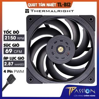 Quạt tản nhiệt Thermalright TL-B12 - Chính hãng, Fan case 12cm tốc 2150rpm, thổi rad mạnh, cực êm thumbnail