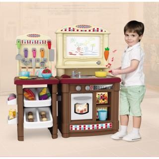 Bộ đồ chơi bếp nấu ăn phong cách châu âu