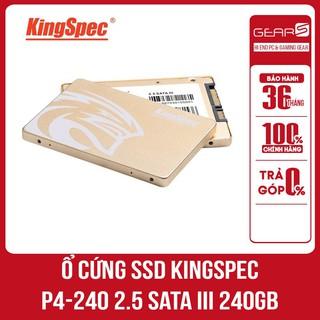 Ổ cứng SSD Kingspec P4-240 2.5 Sata III 240Gb - Bảo hành chính hãng Mai hoàng 36 Tháng