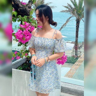 Đầm Abby Dress Xanh