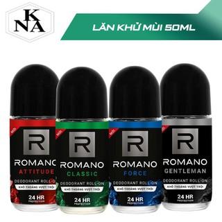 Lăn khử mùi Romano 25ml-50ml, RomanoVIP